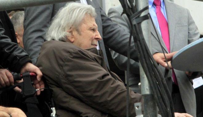O μεγάλος μουσικοσυνθέτης Μίκης Θεοδωράκης
