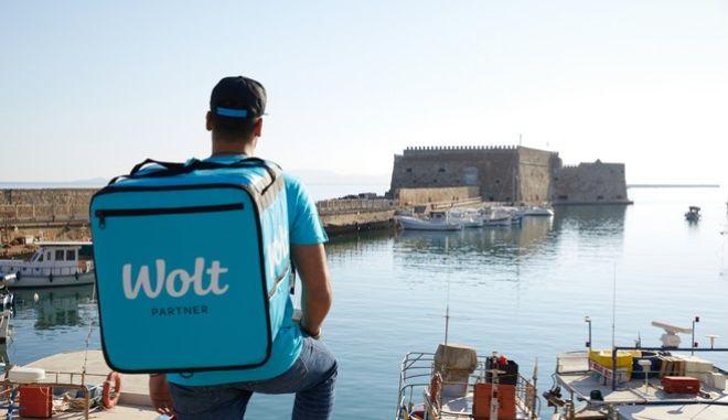 H Wolt στην Κρήτη: ξεκίνησαν οι παραδόσεις στο Ηράκλειο