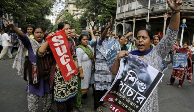 Ινδία: Περίπου 20.000 γυναίκες και παιδιά έπεσαν θύματα trafficking το 2016