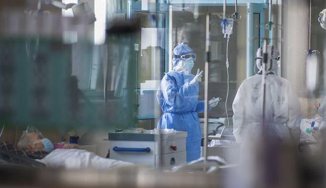 Νοσοκομείο στην Ουχάν της Κίνας