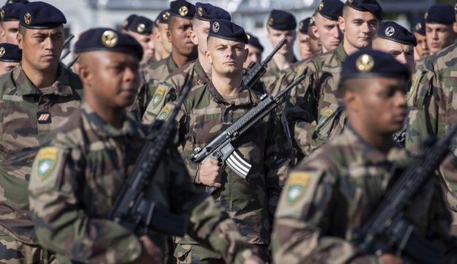 Γάλλοι στρατιώτες