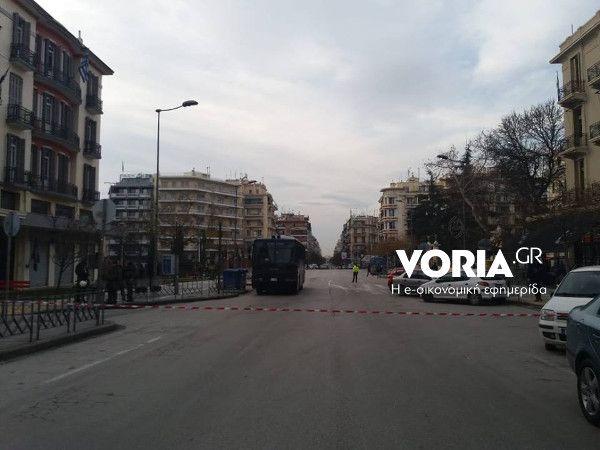 Θεσσαλονίκη: Συνάντηση Ελλήνων και σκοπιανών αναρχικών υπό δρακόντεια μέτρα ασφάλειας