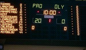 Έκλεισε το φύλλο αγώνα, 20-0 ο Παναθηναϊκός, στην Α2 ο Ολυμπιακός