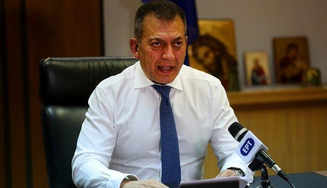Ο υπουργός Εργασίας και Κοινωνικών Υποθέσεων Γιάννης Βρούτσης. Φωτο αρχείου.