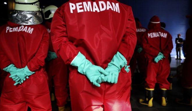 Πυροσβεστικό σώμα στην Ινδονησία