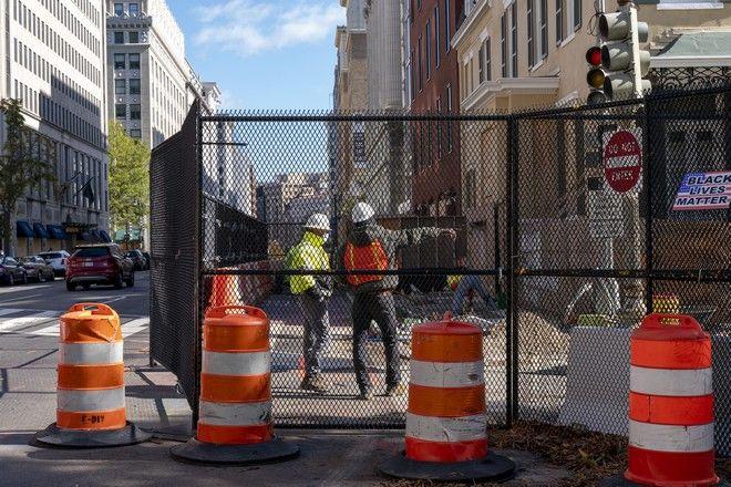 Επέκταση του φράχτη γύρω από τον Λευκό Οίκο