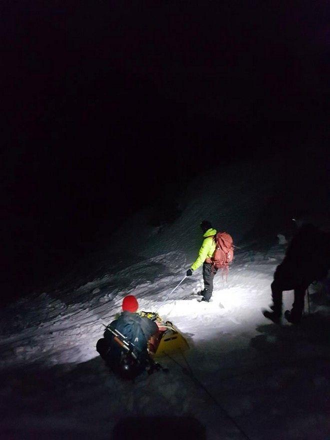 Διάσωση Γάλλου ορειβάτη στον Όλυμπο