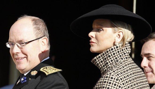 Ο πρίγκιπας Αλβέρτος και η πριγκίπισσα Σαρλίν του Μονακό