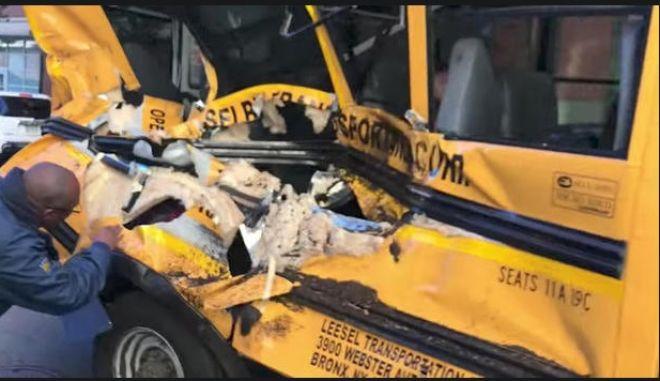 Επίθεση στο Μανχάταν - Ο οδηγός εμβόλισε σχολικό λεωφορείο πριν σκοτώσει ποδηλάτες και πεζούς