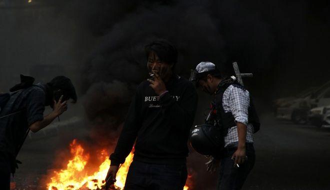 Πραξικόπημα στη Μιανμάρ