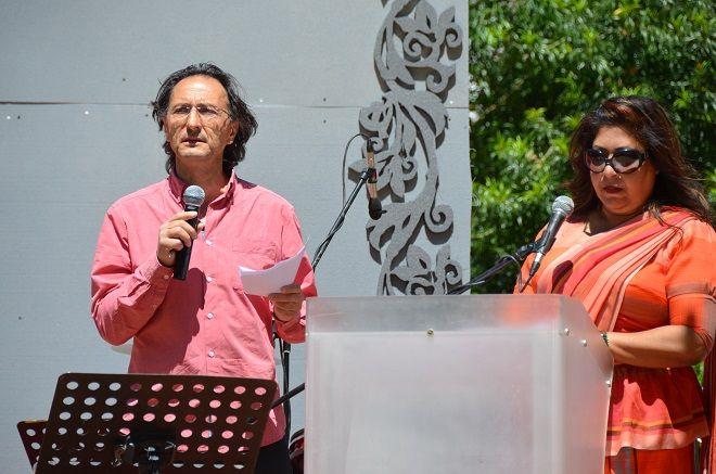 Ο εκτελεστικός διευθυντής της Κίνησης για Ισότητα, Στήριξη και Αντιρατσισμό Κύπρου κ.Δώρος Πολυκάρπου σε ομιλία του σε Φιλιππινέζες μετανάστριες.
