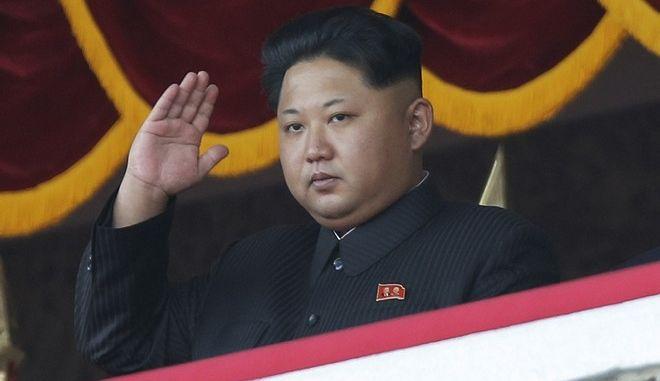 O ηγέτης της Βόρειας Κορέας, Κιμ Γιονγκ Ουν