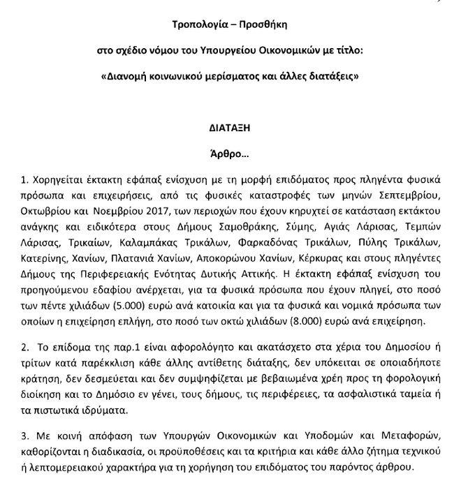 LIVE EIKONA- ΒΟΥΛΗ: Ψηφίζεται το μέρισμα με αυξημένη πλειοψηφία αλλά και κόντρες