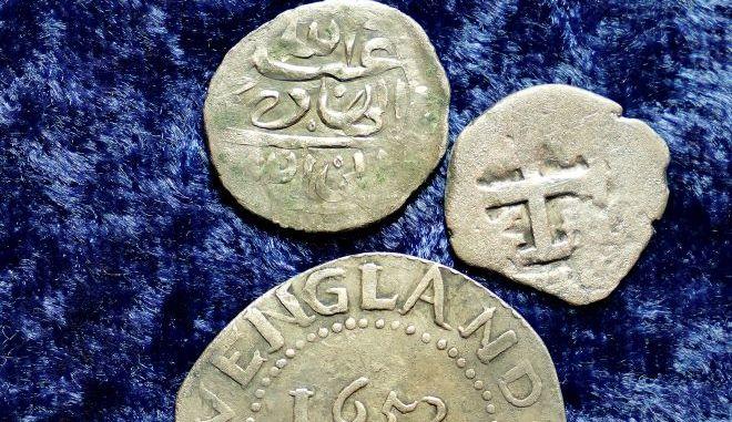 Αραβικά νομίσματα του 17ου αιώνα.