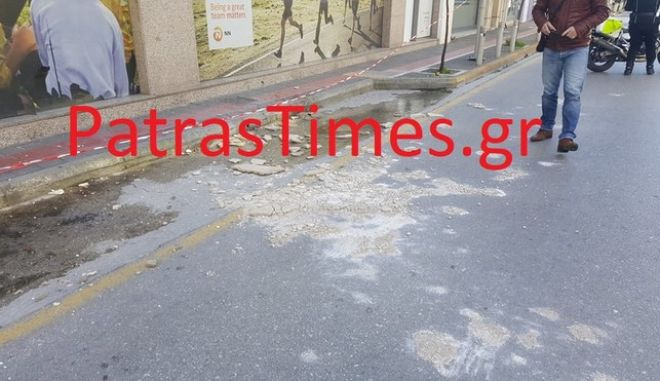 Θυελλώδεις άνεμοι στην Πάτρα: Γυναίκα τραυματίστηκε στο κεφάλι