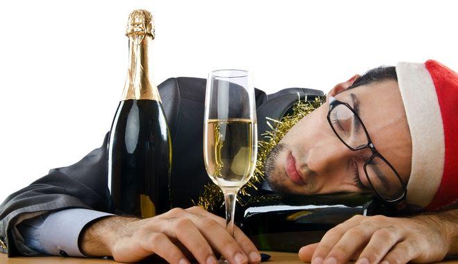 Hangover μετά από γιορτινή έξοδο