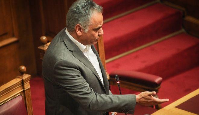 Ο Υπουργός Εσωτερικών, Πάνος Σκουρλέτης