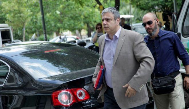 ΑΘΗΝΑ-Συνεδριάζει η Πολιτική Γραμματεία του ΣΥΡΙΖΑ ,υπό τον πρωθυπουργό και πρόεδρο του ΣΥΡΙΖΑ, Αλέξη Τσίπρα// ΣΤΗ ΦΩΤΟΓΡΑΦΙΑ Ο ΑΝΑΠΛΗΡΩΤΗΣ ΥΠΟΥΡΓΟΣ ΧΡΙΣΤΟΦΟΡΟΣ ΒΕΡΝΑΡΔΑΚΗΣ.(Eurokinissi-ΠΑΝΑΓΟΠΟΥΛΟΣ ΓΙΑΝΝΗΣ)