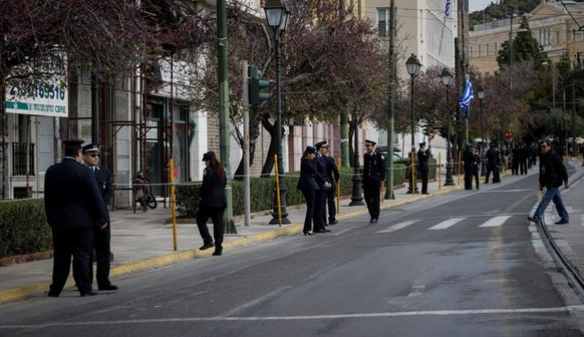 Μαθητική παρέλαση για την επέτειο της 25ης Μαρτίου 1821, στην Αθήνα