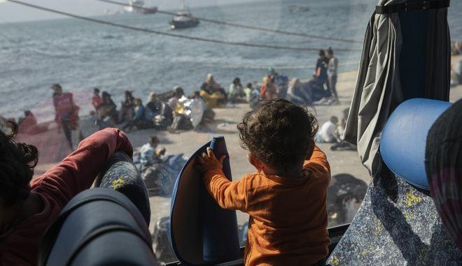 Πρόσφυγας παιδάκι από τη Συρία