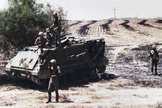 Τουρκικά στρατεύματα στην περιοχή της Λευκωσίας