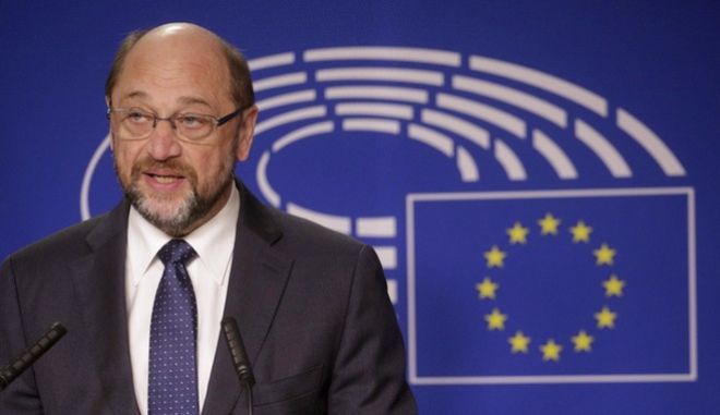 European Parliament President Martin Schultz speaks during a media conference at the European Parliament in Brussels on Thursday, Nov. 24, 2016. (AP Photo/Olivier Matthys)