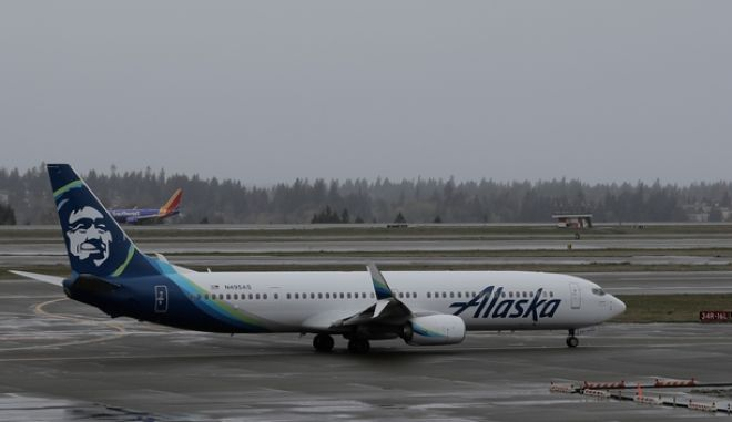 Αεροσκάφος των αερογραμμών Alaska Airlines