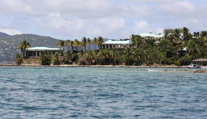 Το ιδιόκτητο νησί του Τζέφρι Έπσταϊν. Εκεί είχε κακοποιήσει πολλά από τα θύματά του