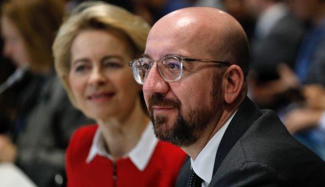 Ο Πρόεδρος του Ευρωπαϊκού Συμβουλίου, Σάρλ Μισέλ