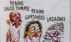 Charlie Hebdo: 'Λαζάνια' τα θύματα του σεισμού στην Ιταλία