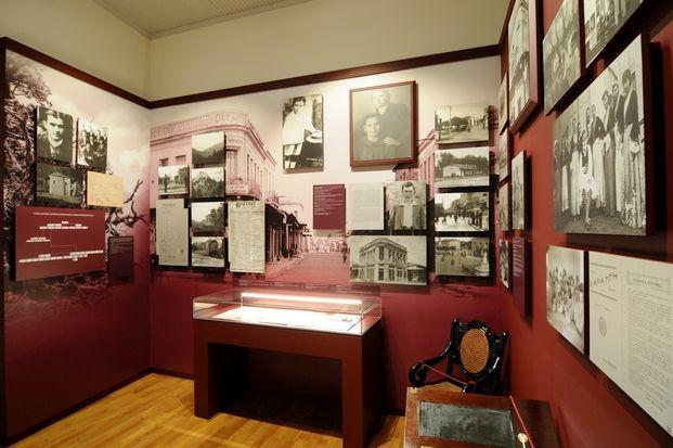 Αποψη από το Μουσείο