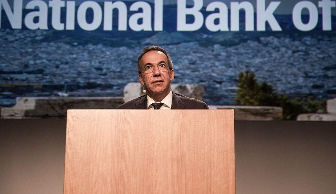 Ο διευθύνων σύμβουλος της Εθνικής Τράπεζας Λεωνίδας Φραγκιαδάκης