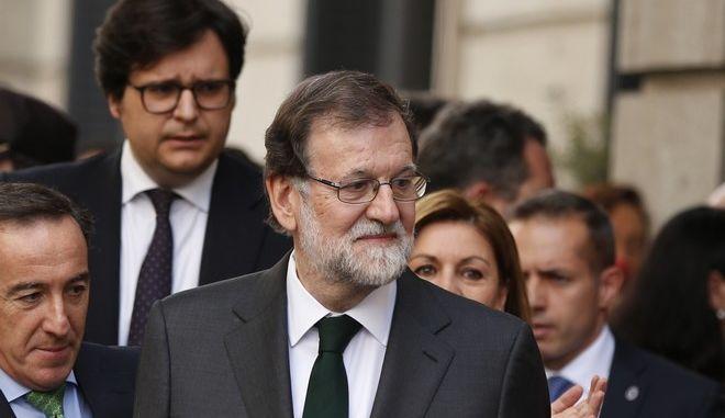 Ο πρώην πρωθυπουργός της Ισπανίας, Μαριάνο Ραχόι