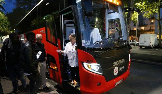 Λεωφορείο στη Γαλλία (ΦΩΤΟ ΑΡΧΕΙΟΥ)