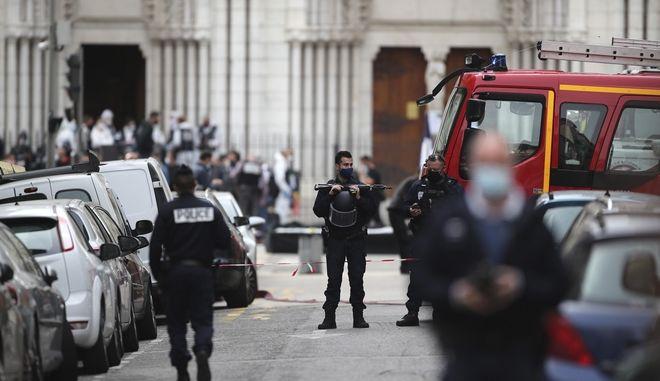 Αστυνομικοί στη Νίκαια