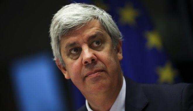 Ο πρόεδρος του Eurogroup, Μάριο Σεντένο
