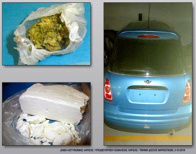 Συνελήφθη διακινητής ηρωίνης και κοκαΐνης