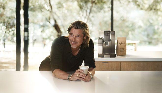 Ο Μπραντ Πιτ πρωταγωνιστεί σε νέα διαφημιστική καμπάνια συσκευών καφέ