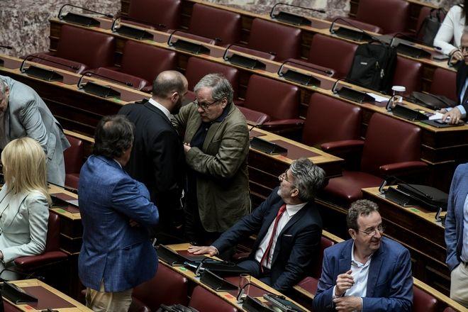 Επεισόδιο στην Βουλή