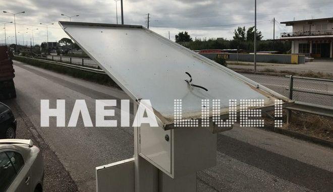 Πύργος: Κλέβουν τα φωτοβολταϊκά πάνελ από τις δημοτικές στάσεις