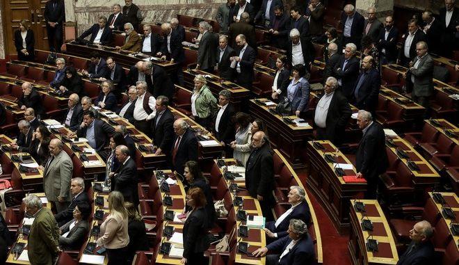 Συζήτηση στην Ολομέλεια της Βουλής για τη διεκδίκηση των γερμανικών οφειλών