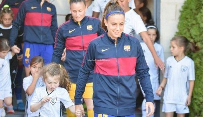 """Απολαυστική ατάκα σε παίκτρια της Μπαρτσελόνα: """"Μα εγώ είμαι από τη Μαδρίτη"""""""