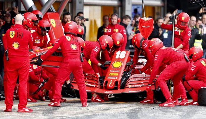 Η ομάδα της Ferrari