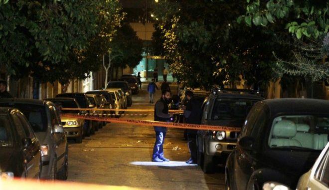 ΑΘΗΝΑ-'Εγκλημα στη συμβολή των οδών Πανόρμου και Βατοπεδίου στους Αμπελόκηπους.(Eurokinissi-ΣΤΕΛΙΟΣ ΣΤΕΦΑΝΟΥ)