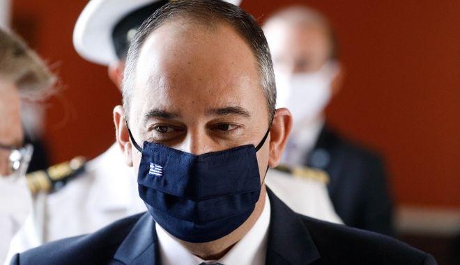 Ο Υπουργός Ναυτιλίας και Νησιωτικής Πολιτικής κ. Γιάννης Πλακιωτάκης