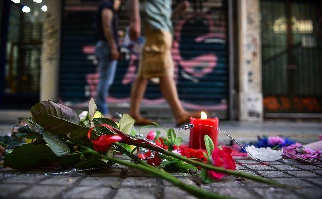 Από το σημείο της δολοφονίας του Ζακ Κωστόπουλου