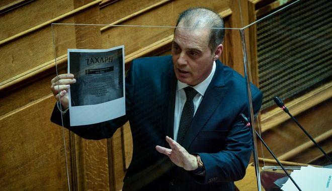 O  πρόεδρος της Ελληνικής Λύσης, Κυριάκος Βελόπουλος