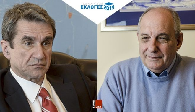 DEBATE στο NEWS 247: Ανδρέας Λοβέρδος VS Τέρενς Κουίκ