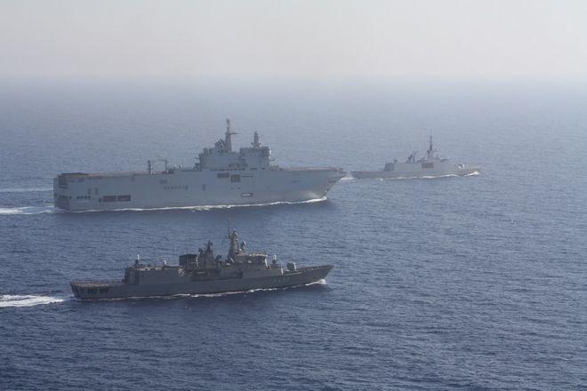 Ηχηρό μήνυμα στην Τουρκία: Κοινή άσκηση Ελλάδας-Γαλλίας στη Μεσόγειο