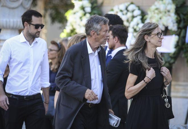 Ο Γιάννης Ιωαννίδης στην κηδεία του Σωκράτη Σ. Κόκκαλη